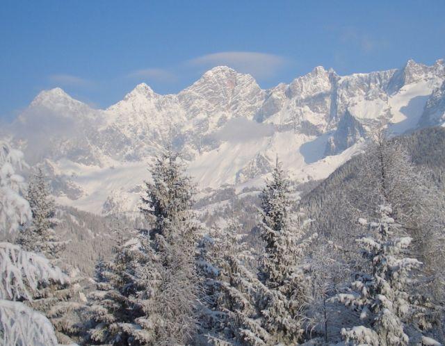 Lyžařská oblast Dachstein – Schladming